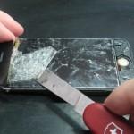 последствия самостоятельной замены стекла на iPhone
