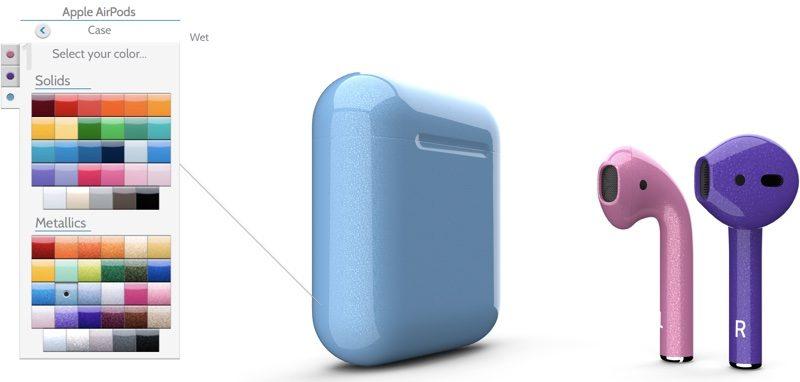 AirPods можно купить в 58-ми цветовых вариантах - i7Phone 2c606c8b9d871