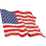 CAR-FLAG-Fabric-USA