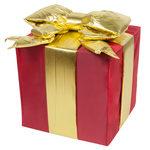 Red-Nylon-Gift-Box-16in-8880