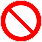 Ban_sign